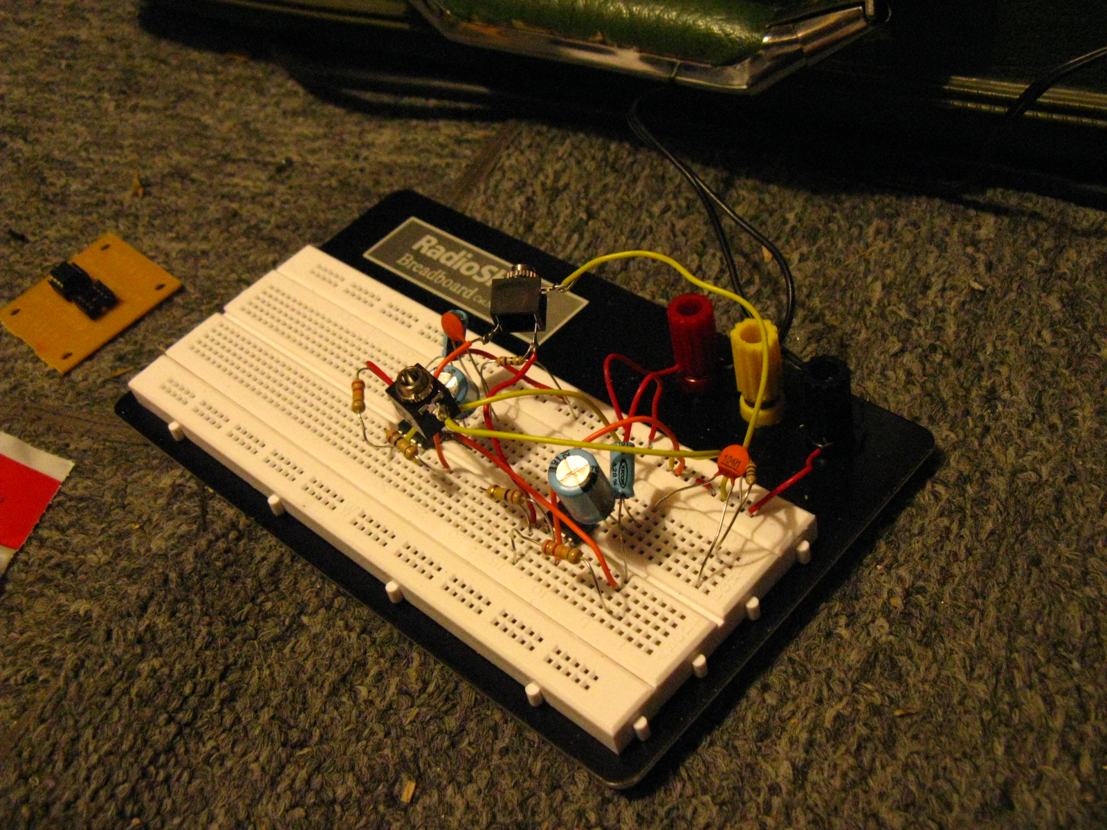 breadboard – sound made by animals