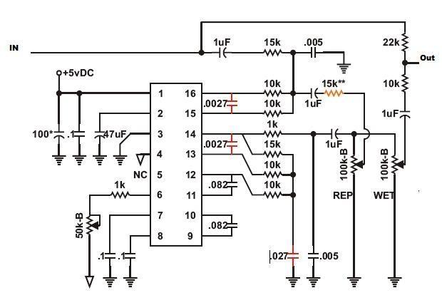 pt2399 ic circuit diagram