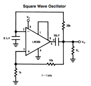 LM386 Square-wave Oscillator – Sound Made By Animals